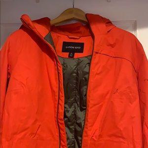 Lands End winter/rain Coat